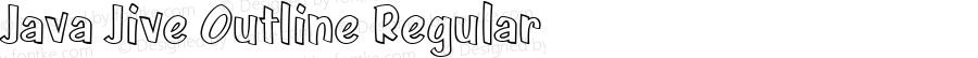 Java Jive Outline Regular Version 1.0