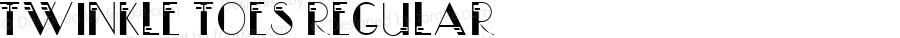 Twinkle Toes Regular Macromedia Fontographer 4.1.5 10/8/00