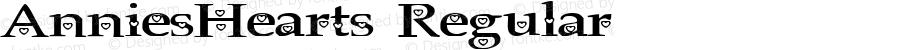 AnniesHearts Regular 2003; 1.0, initial release