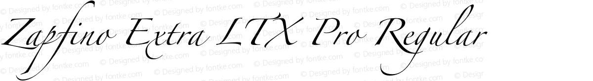 Zapfino Extra LTX Pro Regular