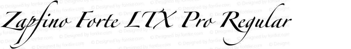 Zapfino Forte LTX Pro Regular