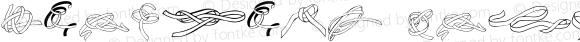 Zoeknots Regular Altsys Fontographer 4.1 07/03/1995