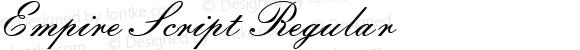 Empire Script Regular