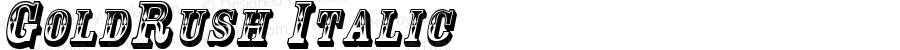 GoldRush Italic Rev. 003.000