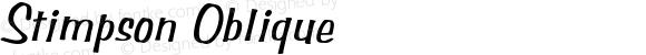 Stimpson Oblique