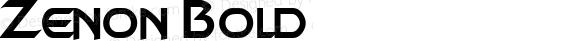 Zenon Bold Rev. 003.000