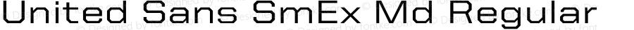 United Sans SmEx Md Regular Version 1.101;PS 001.001;hotconv 1.0.38