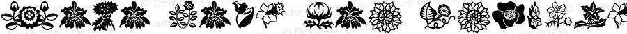 Mini Pics Lil Flowers Regular Altsys Fontographer 4.1 21/09/95