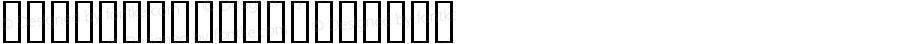 Eileen Caps Regular Altsys Fontographer 3.5  5/27/92
