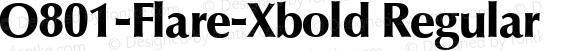 O801-Flare-Xbold Regular Version 1.0 20-10-2002