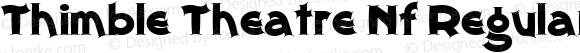 Thimble Theatre Nf Regular Macromedia Fontographer 4.1 23.02.2003