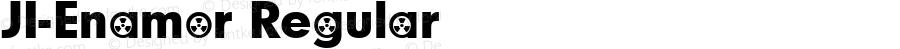 JI-Enamor Regular Macromedia Fontographer 4.1 8/14/2001