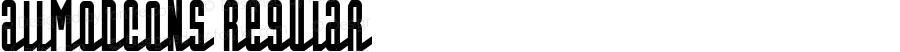 AllModCons Regular Macromedia Fontographer 4.1.3 5/28/02