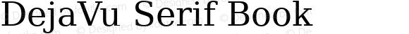 DejaVu Serif Book
