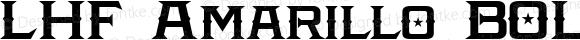 LHF Amarillo BOLD Regular (1)  www.letterheadfonts.com