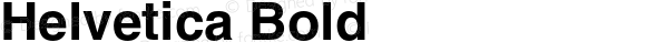 Helvetica Bold 003.001
