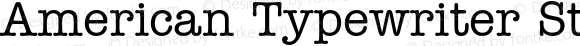 American Typewriter Std Med Regular Version 1.040;PS 001.004;Core 1.0.35;makeotf.lib1.5.4492