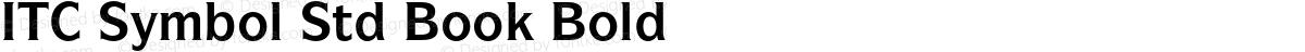 ITC Symbol Std Book Bold
