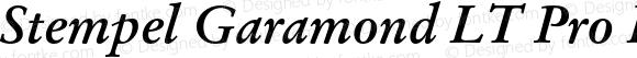 Stempel Garamond LT Pro Bold Italic Version 1.100;PS 001.001;hotconv 1.0.38