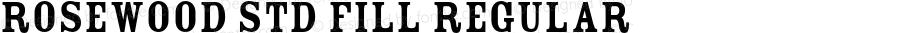 Rosewood Std Fill Regular OTF 1.018;PS 001.002;Core 1.0.31;makeotf.lib1.4.1585