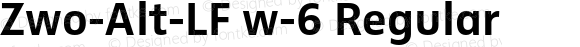 Zwo-Alt-LF w-6 Regular 4.313