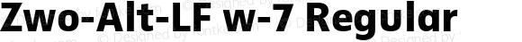 Zwo-Alt-LF w-7 Regular 4.313