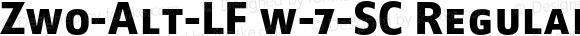 Zwo-Alt-LF w-7-SC Regular 4.313