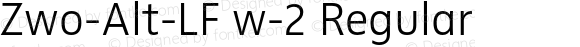Zwo-Alt-LF w-2 Regular 4.313
