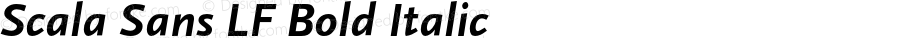 Scala Sans LF Bold Italic 001.000