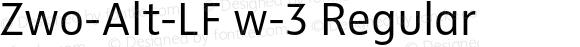 Zwo-Alt-LF w-3 Regular 4.313