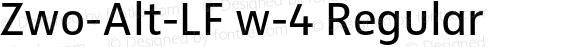 Zwo-Alt-LF w-4 Regular 4.313
