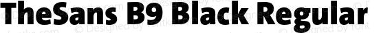 TheSans B9 Black Regular preview image