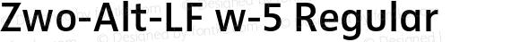 Zwo-Alt-LF w-5 Regular 4.313
