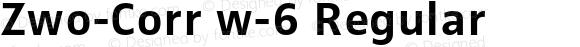 Zwo-Corr w-6 Regular 004.453