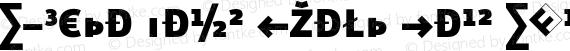 Eureka Sans Black Caps Exp Regular preview image