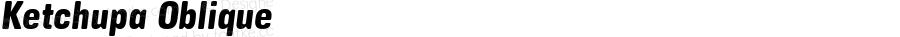 Ketchupa Oblique v1
