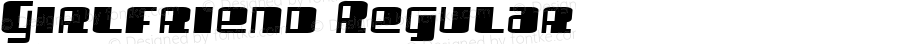 Girlfriend Regular Macromedia Fontographer 4.1.4 2/16/07