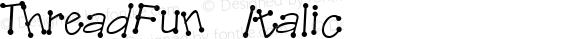 ThreadFun Italic