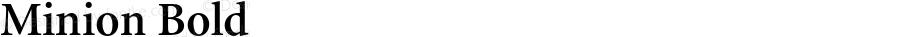 Minion-Semibold