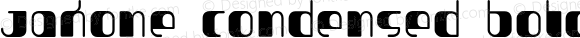 Jakone Condensed Bold 001.000