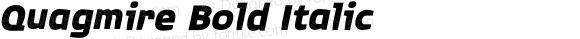 Quagmire Bold Italic