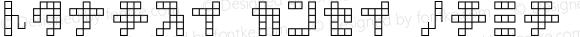 square type kana kana Macromedia Fontographer 4.1.3 1998.03.17