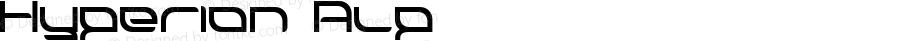 Hyperion Alp Macromedia Fontographer 4.1.3 1998.03.17