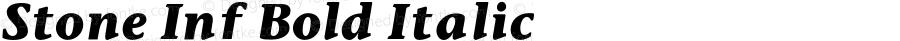 Stone Inf Bold Italic 001.000