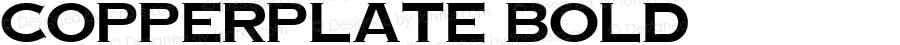 Copperplate Bold Altsys Fontographer 3.5  11/6/92