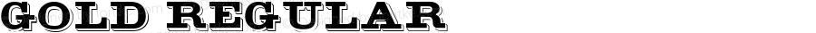 Gold Regular Altsys Fontographer 3.5  11/17/92
