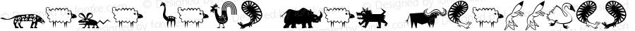 Mini Pics Lil Critters Altsys Fontographer 4.1 20/09/95