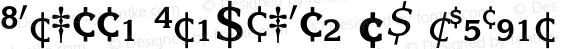 Korinna Fractions BQ Regular 001.000