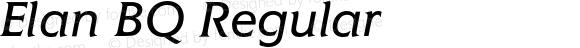 Elan BQ Regular 001.000