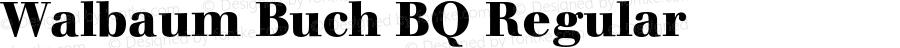 Walbaum Buch BQ Regular 001.000